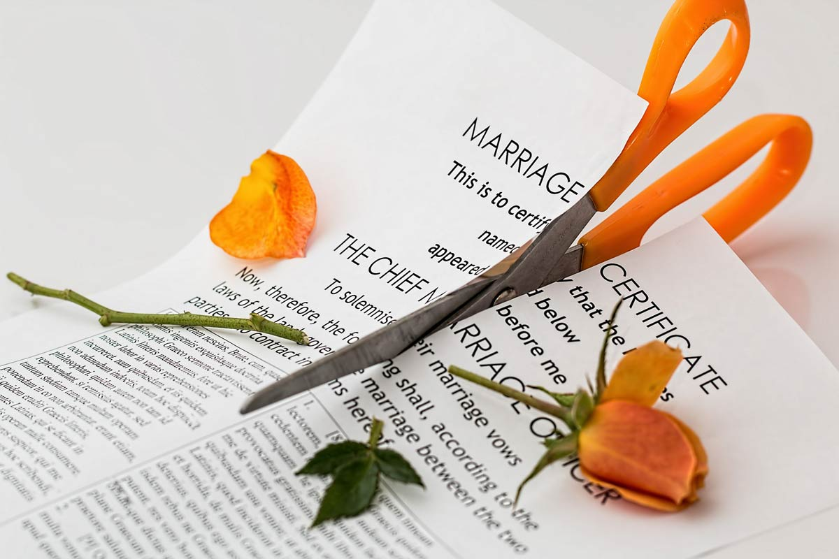 depressing facts about love - divorce rates