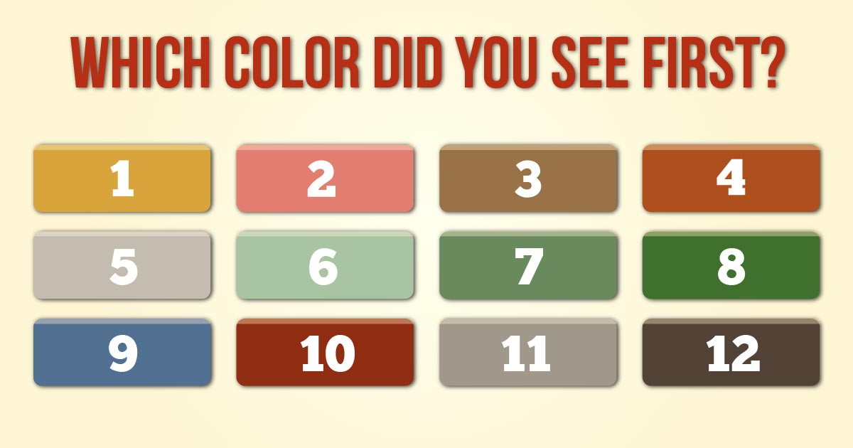 color test personality